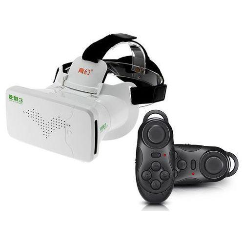 OKULARY VR 3D Ritech RIEM 3 III VIRTUAL REALITY OCULUS Cardboard + Gamepad
