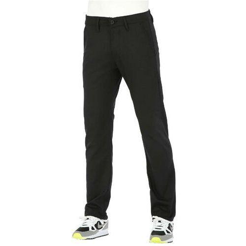 Spodnie - straight flex chino pc black (pc black) rozmiar: 32/32, Reell