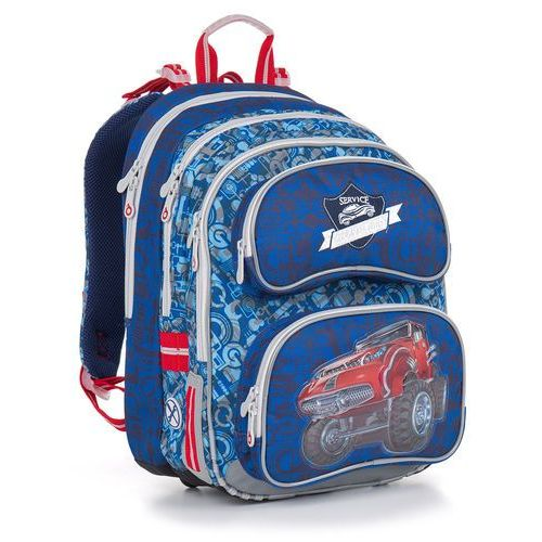 Plecak szkolny chi 841 d - blue marki Topgal