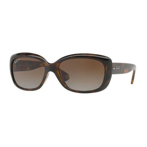 Ray-ban rb 4101 jackie ohh 710/t5 okulary przeciwsłoneczne + darmowa dostawa i zwrot (8053672789775)