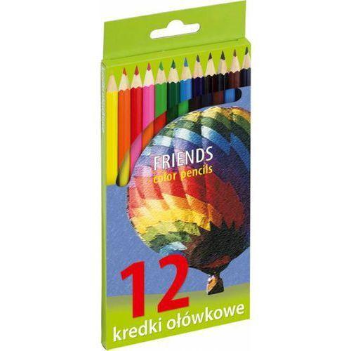 Kw trade Kredki ołówkowe sześciokątne 12 kolorów - x00651