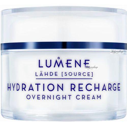 lahde hydration recharge overnight cream - krem nawadniający na noc 50ml marki Lumene