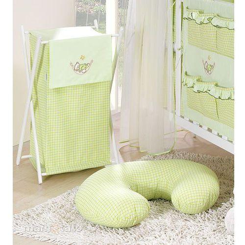 kosz na bieliznę śpioch w hamaku w zieleni marki Mamo-tato