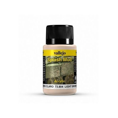Weathering Effects - Light Brown Splash Mud / 40ml Vallejo 73804