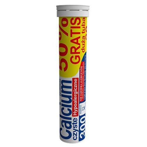 Tabletki Calcium 300 czyste hypoalergiczne x 10+10 tabletek musujących