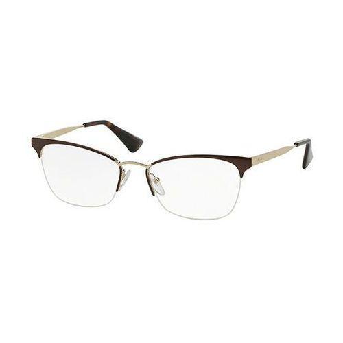 Okulary korekcyjne  pr65qv cinema dho1o1 marki Prada