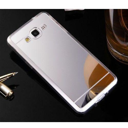 Slim Mirror Case Srebrny   Etui dla Samsung Galaxy Grand Prime - Srebrny