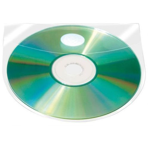 Kieszeń samoprzylepna z klapką na CD/DVD 10 szt. - X06835, NB-5466