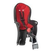 Fotelik rowerowy  sleepy czarna/czerwona marki Hamax