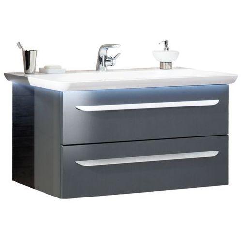 Zestaw mebli łazienkowych umywalka + szafka pod umywalkę 97,5 cm m9 7208712 marki Lanzet