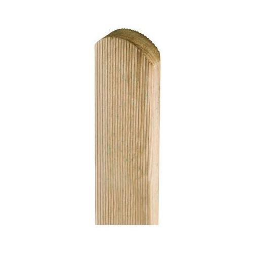 Stelmet Sztacheta drewniana 80 x 7 x 2 cm frezowana