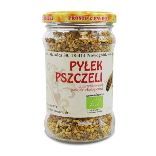 Pyłek pszczeli bio 180 g - sznurowski marki Miody sznurowski