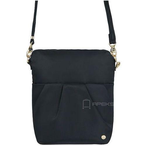 Pacsafe Citysafe CX Convertible Crossbody składana torebka damska antykradzieżowa na ramię - Black