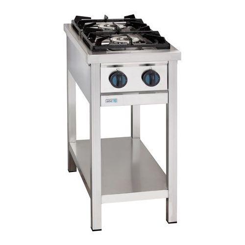 Kuchnia gazowa 2-palnikowa wolnostojąca, gaz ziemny, 9 kw, 400x700x850 mm | , eco cook marki Asber