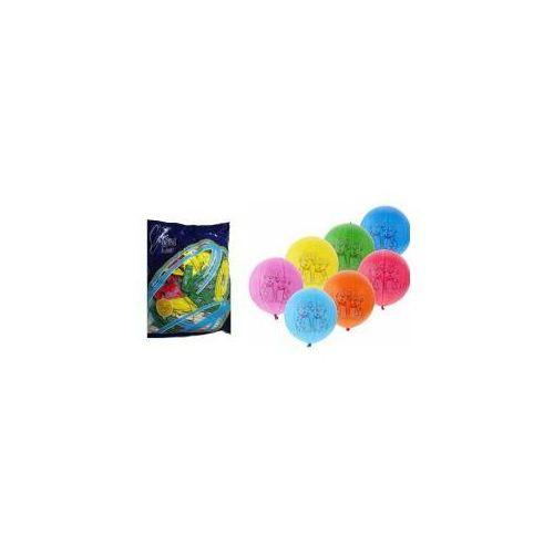 Balon piłka z dalmatyńczykami 45cm - GODAN (8021886209426)