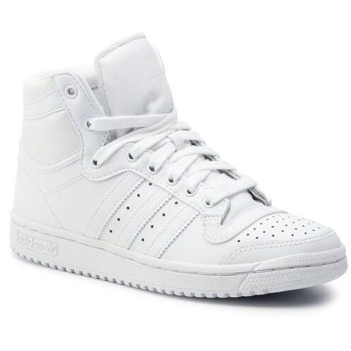 Buty adidas - Top Ten Hi S84596 Ftwwht/Ftwwht/Ftwwht, kolor biały