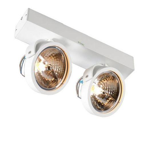 Spot LAMPA sufitowa GO SL2 89964 Zumaline metalowa OPRAWA ścienna minimalistyczne reflektory białe, 89964