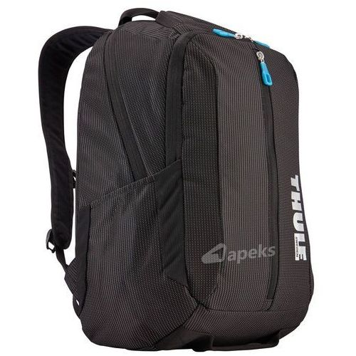 "Thule crossover backpack 25l plecak na laptopa 15,6"" / black - black"