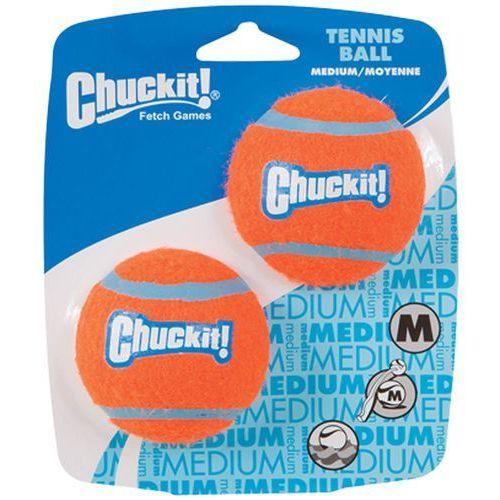 Chuckit! tennis ball piłeczka dla psa - m: Ø 6,5 cm (2 szt.)