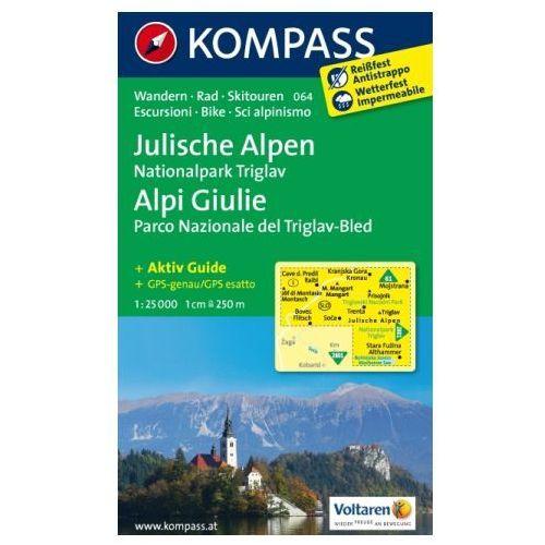 Julische Alpen - Alpi Giulie, 1:25 000