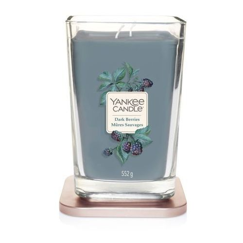 Yankee candle świeca elevation dark berries 552g