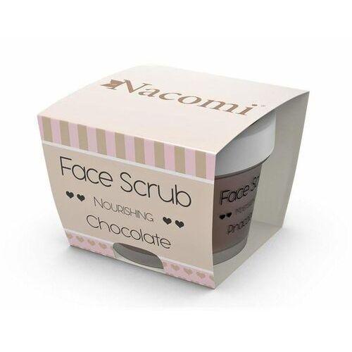 Nacomi Face scrub peeling odżywczy do twarzy i ust chocolate 80g (5902539703603)