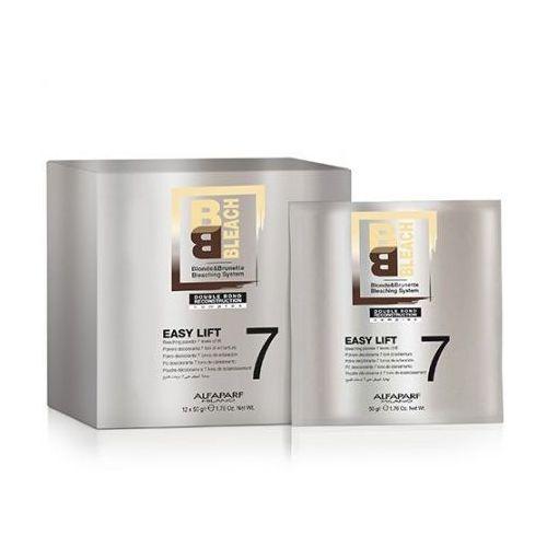 blonde&brunette bleaching system free style lift 7 - puder rozjaśniający do 7 tonów free style lift, 12x50g marki Alfaparf milano