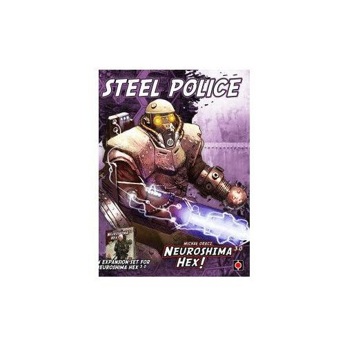 Neuroshima hex: steel police (edycja 3.0) marki Portal games