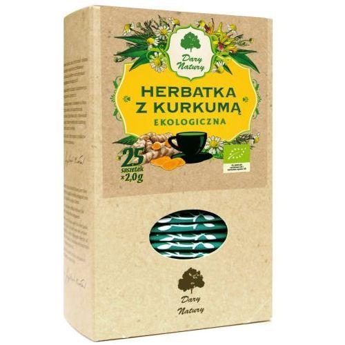 HERBATKA Z KURKUMĄ BIO (25 x 2 g) - DARY NATURY, 5902741002877