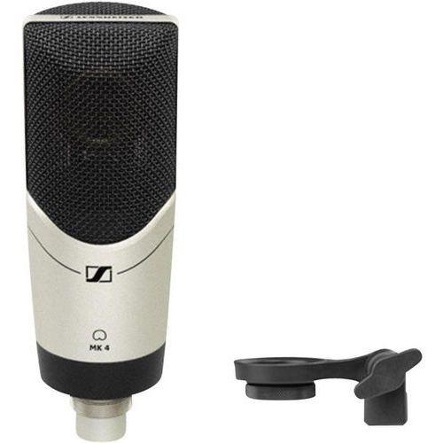 Mikrofon studyjny Sennheiser MK 4, Komunikacja:Przewodowa, z klipsem