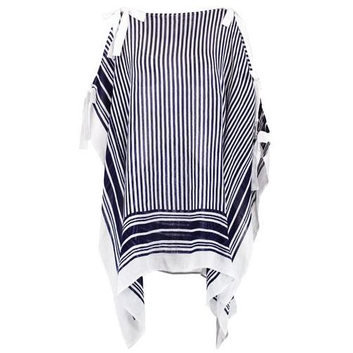 Club Monaco YARDEN Ponczo blue/white, 491644062
