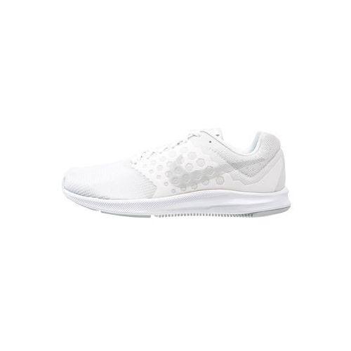 Nike Performance DOWNSHIFTER 7 Obuwie do biegania treningowe white/pure platinum