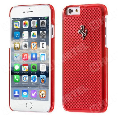 Futerał hardcase perforated aluminium apple iphone 6 / 6s marki Ferrari