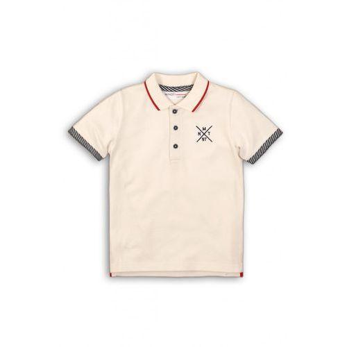 Koszulka chłopięca z kołnierzykiem 1i36cg marki Minoti