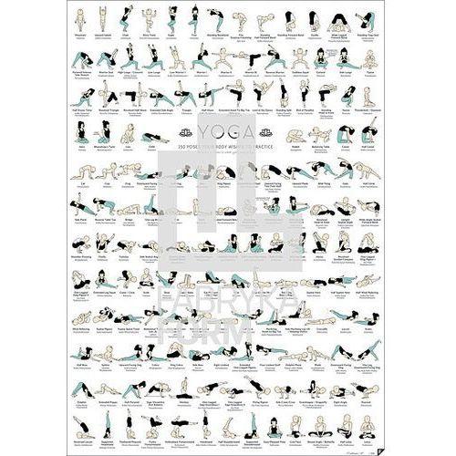 Follygraph Plakat yoga