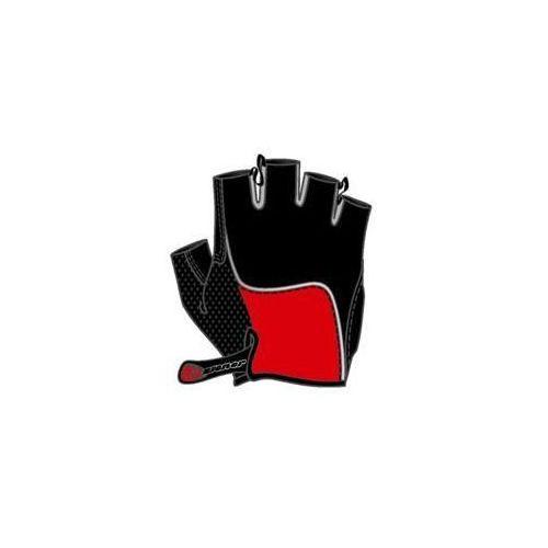 Ziener Rękawiczki rowerowe chan - czerwone (4052927625282)