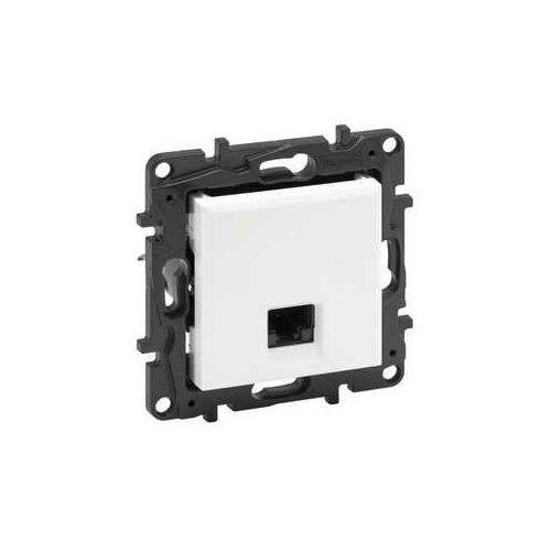 Legrand Gniazdo teleinformatyczne niloe step 863161 rj45 kat. 6 ftp pojedyńcze białe