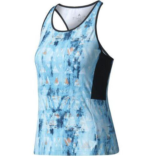 Adidas koszulka Essex TR Tank Samba Blue /Black M, kolor niebieski