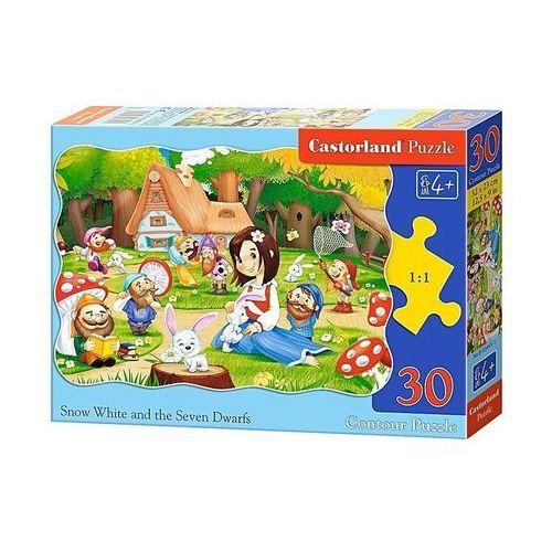 Castor Puzzle 30 królewna śnieżka i siedmiu... (5904438003495)