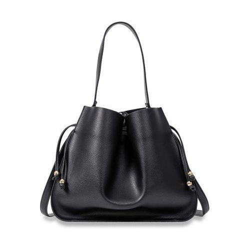 Mała torebka na ramię ze szlufką bonprix czarny