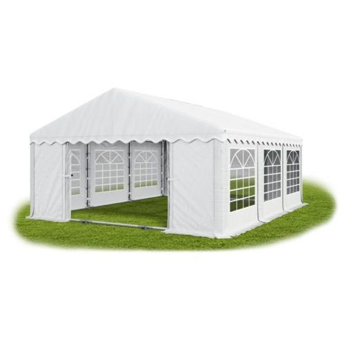 Namiot 5x6x2, wzmocniony pawilon ogrodowy, summer plus/ 30m2 - 5m x 6m x 2m marki Das company
