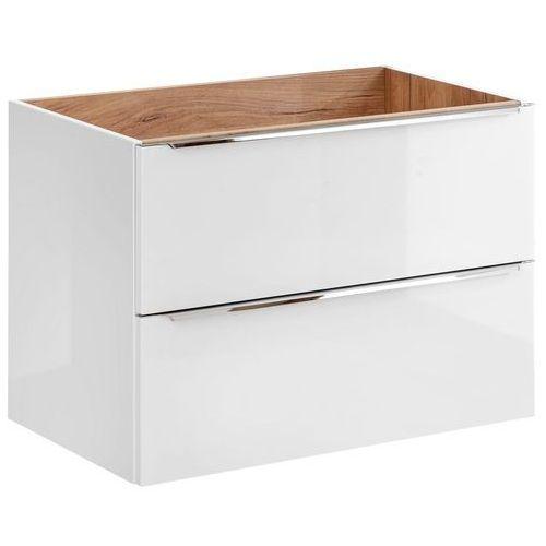 Szafka pod umywalkę 80 cm capri white 821b marki Comad