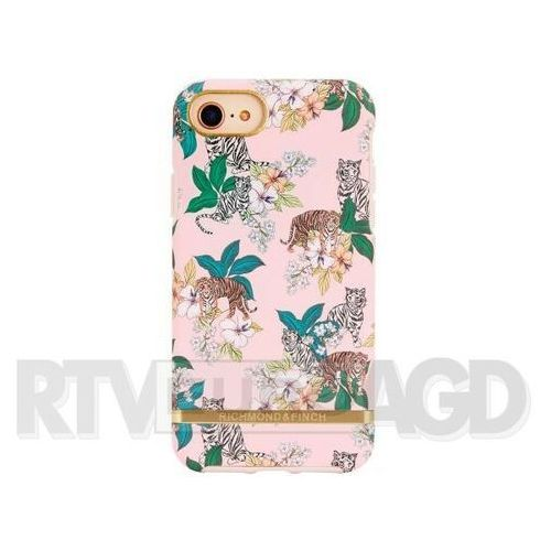 Richmond & Finch Pink Tiger - Gold Details iPhone 6/7/8, kolor różowy