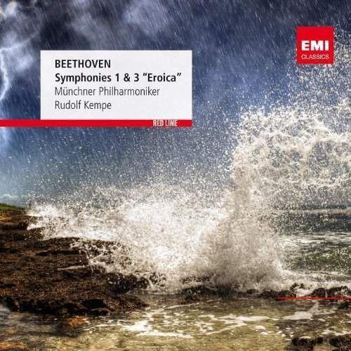 RED LINE - SYMPHONIES NOS. 1 & 3 - Kempe, Rudolf, Muenchner Philharmoniker (Płyta CD) (5099963655520)