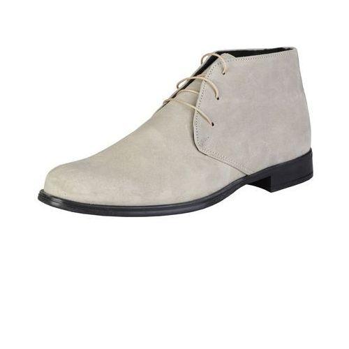 Męskie buty botki eusebe beżowe marki Pierre cardin