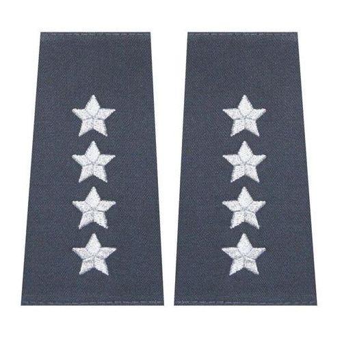 Pagony (pochewki) do kurtki całorocznej służby więziennej - kapitan marki Sortmund