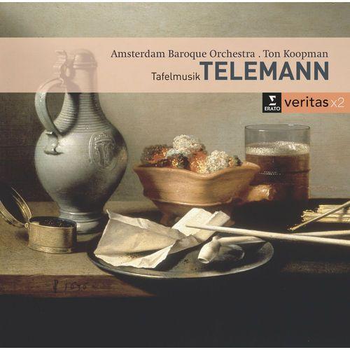 TELEMANN: CHAMBER MUSIC / TAFELMUSIK - Ton Koopman (Płyta CD), 2564698381