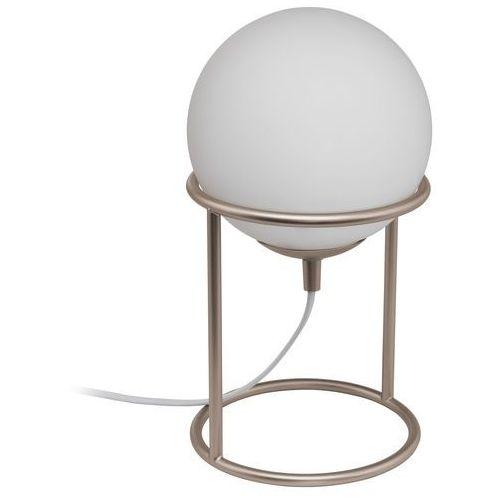 Lampka Eglo Castellato 1 97332 stołowa nocna 1x28W E14 biała/szampańska