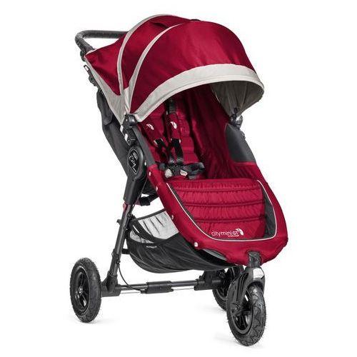 Wózek  city mini gt single crimson/gray + darmowy transport! marki Baby jogger