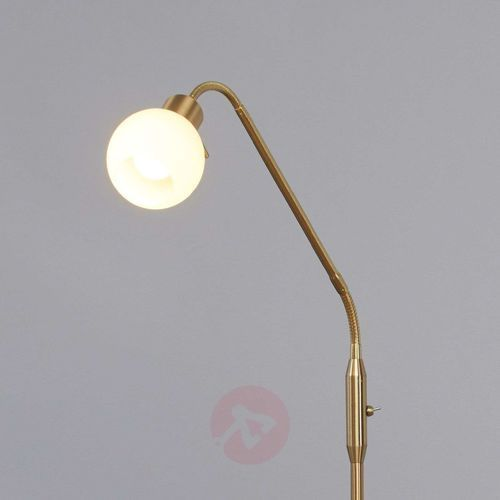 ELAINA – lampa do czytania LED, mosiężna (6291106553185)